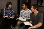 men's Bible study group